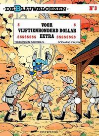 Cover Thumbnail for De Blauwbloezen (Dupuis, 1972 series) #3 - Voor vijftienhonderd dollar extra