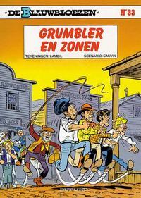 Cover Thumbnail for De Blauwbloezen (Dupuis, 1972 series) #33 - Grumbler en zonen