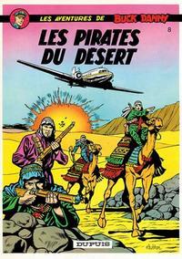 Cover Thumbnail for Buck Danny (Dupuis, 1948 series) #8 - Les pirates du desert
