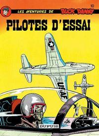 Cover Thumbnail for Buck Danny (Dupuis, 1948 series) #10 - Pilotes d'essai