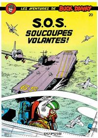 Cover Thumbnail for Buck Danny (Dupuis, 1948 series) #20 - S.O.S. soucoupes volantes!