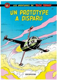 Cover Thumbnail for Buck Danny (Dupuis, 1948 series) #21 - Un prototype a disparu