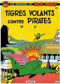 Cover Thumbnail for Buck Danny (Dupuis, 1948 series) #28 - Tigres Volants contre Pirates