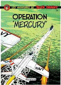 Cover Thumbnail for Buck Danny (Dupuis, 1948 series) #29 - Operation ''Mercury''