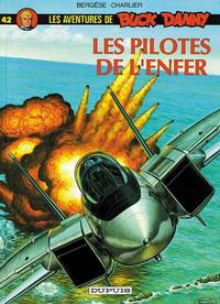 Cover Thumbnail for Buck Danny (Dupuis, 1948 series) #42 - Les Pilotes de l'Enfer