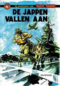 Cover Thumbnail for Buck Danny (Dupuis, 1949 series) #1 - De Jappen vallen aan