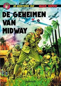 Cover Thumbnail for Buck Danny (Dupuis, 1949 series) #2 - De geheimen van Midway [Herdruk 19?]
