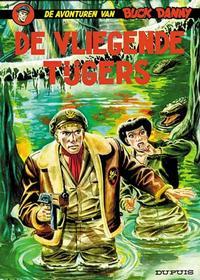 Cover Thumbnail for Buck Danny (Dupuis, 1949 series) #4 - De Vliegende Tijgers [Eerste druk (1951)]