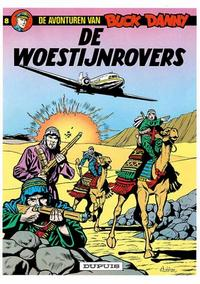 Cover Thumbnail for Buck Danny (Dupuis, 1949 series) #8 - De woestijnrovers