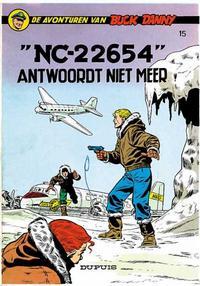 "Cover Thumbnail for Buck Danny (Dupuis, 1949 series) #15 - ""NC-22654"" antwoordt niet meer"