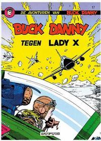Cover Thumbnail for Buck Danny (Dupuis, 1949 series) #17 - Tegen Lady X