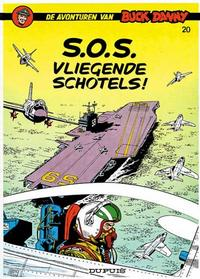 Cover Thumbnail for Buck Danny (Dupuis, 1949 series) #20 - S.O.S. vliegende schotels!