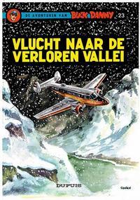 Cover Thumbnail for Buck Danny (Dupuis, 1949 series) #23 - Vlucht naar de verloren vallei