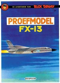 Cover Thumbnail for Buck Danny (Dupuis, 1949 series) #24 - Proefmodel FX-13