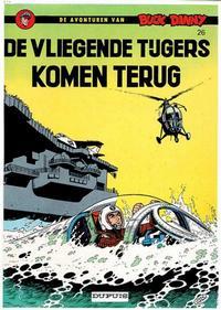 Cover Thumbnail for Buck Danny (Dupuis, 1949 series) #26 - De Vliegende Tijgers komen terug