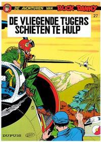 Cover Thumbnail for Buck Danny (Dupuis, 1949 series) #27 - De Vliegende Tijgers schieten te hulp