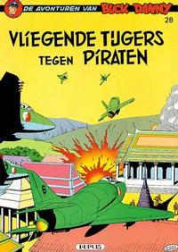 Cover Thumbnail for Buck Danny (Dupuis, 1949 series) #28 - Vliegende Tijgers tegen piraten