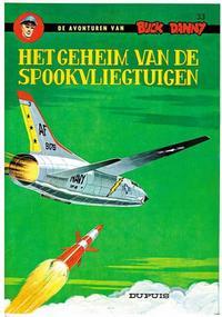 Cover Thumbnail for Buck Danny (Dupuis, 1949 series) #33 - Het geheim van de spookvliegtuigen