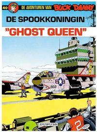 Cover Thumbnail for Buck Danny (Dupuis, 1949 series) #40 - De spookkoningin