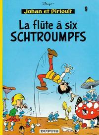 Cover Thumbnail for Johan et Pirlouit (Dupuis, 1954 series) #9 - La flûte à six schtroumpfs