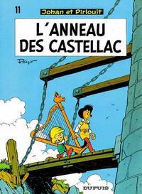 Cover Thumbnail for Johan et Pirlouit (Dupuis, 1954 series) #11 - L'Anneau des Castellac