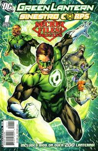 Cover Thumbnail for Green Lantern / Sinestro Corps: Secret Files (DC, 2008 series) #1
