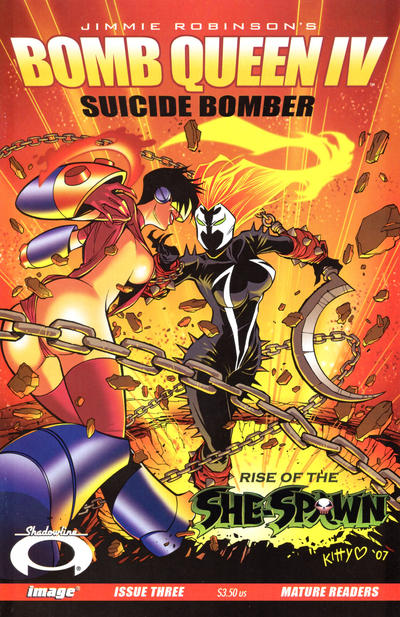 Cover for Bomb Queen IV Suicide Bomber (Image, 2007 series) #3