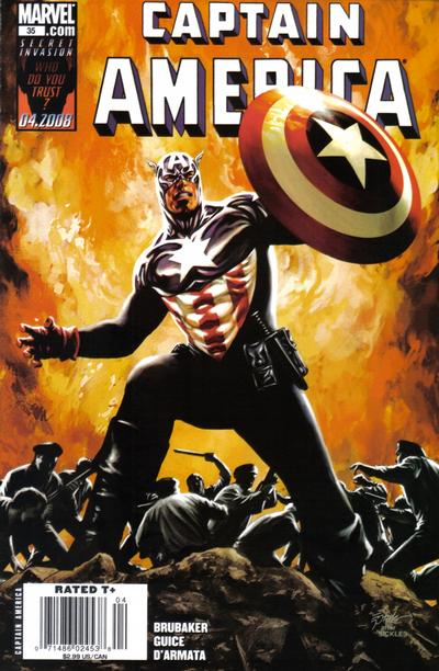Cover for Captain America (Marvel, 2005 series) #35