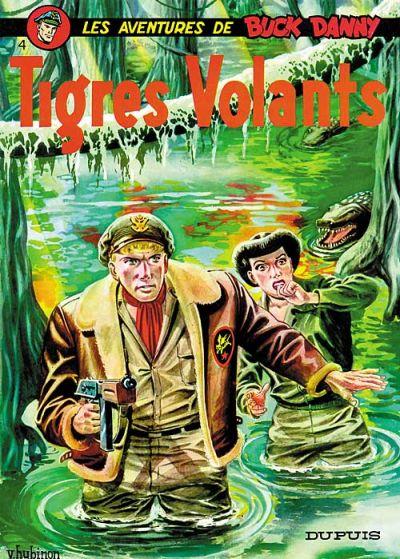 Cover for Buck Danny (Dupuis, 1948 series) #4 - Tigres Volants