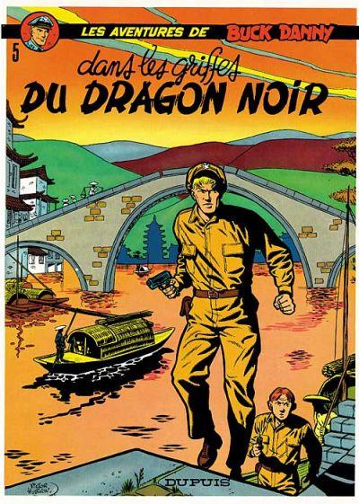 Cover for Buck Danny (Dupuis, 1948 series) #5 - Dans les griffes du Dragon Noir