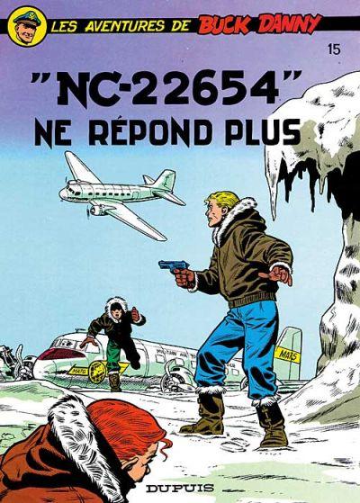 Cover for Buck Danny (Dupuis, 1948 series) #15 - NC 22654 ne répond plus