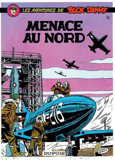 Cover for Buck Danny (Dupuis, 1948 series) #16 - Menace au Nord