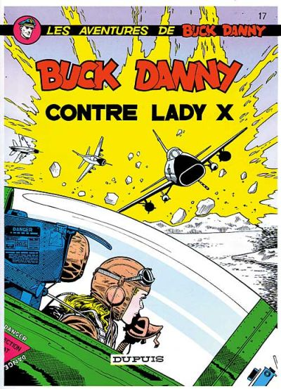 Cover for Buck Danny (Dupuis, 1948 series) #17 - Buck Danny contre Lady X