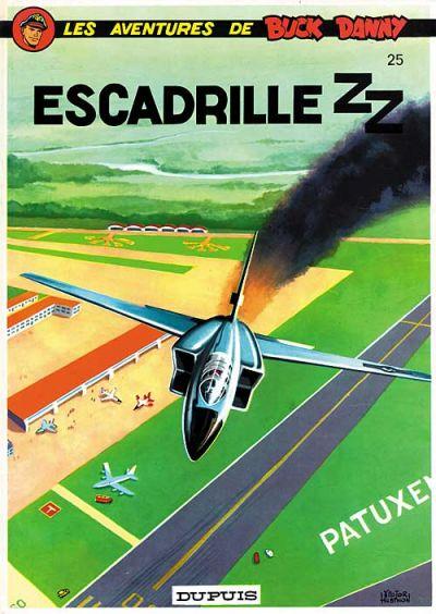 Cover for Buck Danny (Dupuis, 1948 series) #25 - Escadrille ZZ