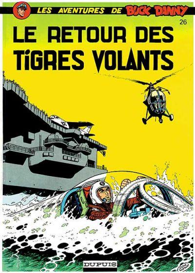 Cover for Buck Danny (Dupuis, 1948 series) #26 - Le Retour des Tigres Volants