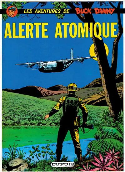 Cover for Buck Danny (Dupuis, 1948 series) #34 - Alerte Atomique