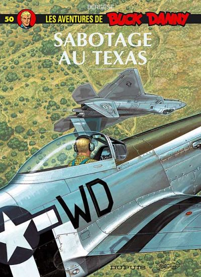 Cover for Buck Danny (Dupuis, 1948 series) #50 - Sabotage au Texas