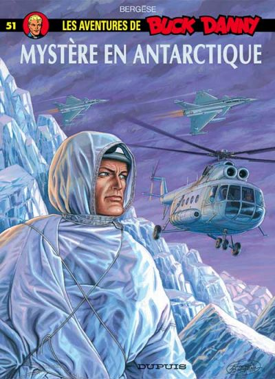 Cover for Buck Danny (Dupuis, 1948 series) #51 - Mystère en Antarctique