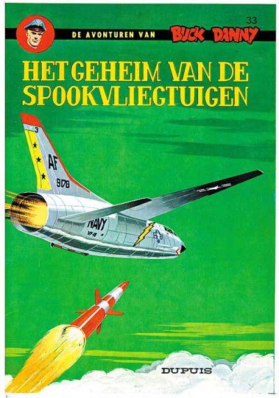 Cover for Buck Danny (Dupuis, 1949 series) #33 - Het geheim van de spookvliegtuigen