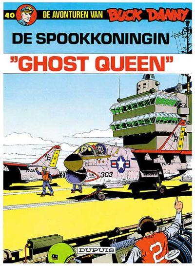 Cover for Buck Danny (Dupuis, 1949 series) #40 - De spookkoningin