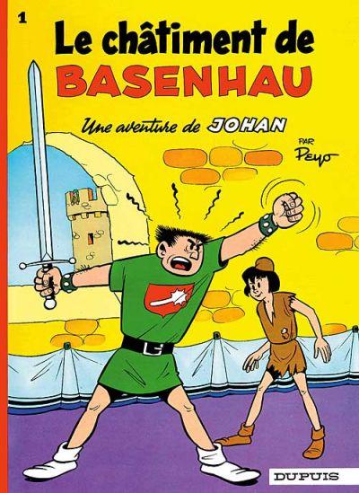 Cover for Johan et Pirlouit (Dupuis, 1954 series) #1 - Le châtiment de Basenhau