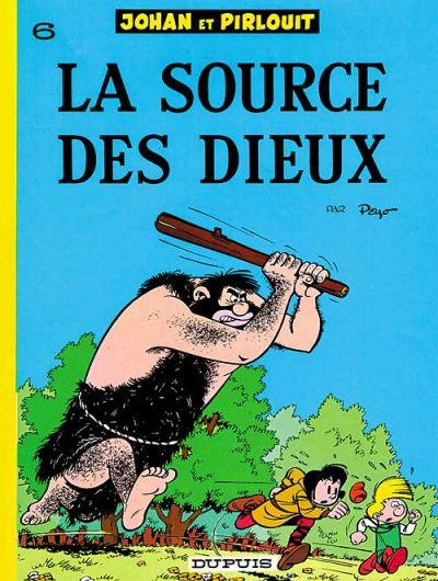 Cover for Johan et Pirlouit (Dupuis, 1954 series) #6 - La source des dieux