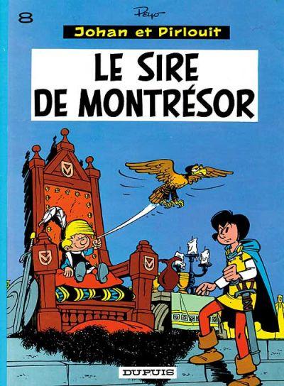 Cover for Johan et Pirlouit (Dupuis, 1954 series) #8 - Le sire de Montrésor