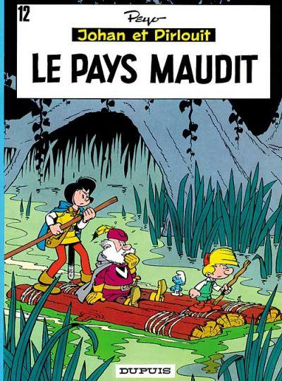 Cover for Johan et Pirlouit (Dupuis, 1954 series) #12 - Le pays maudit