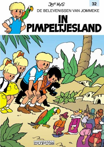 Cover for Jommeke (Dupuis, 2001 series) #32