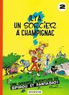 Cover for Les Aventures de Spirou et Fantasio (Dupuis, 1950 series) #2 - Il y a un sorcier à Champignac [1971 edition]