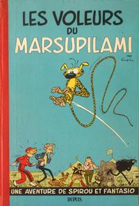 Cover Thumbnail for Les Aventures de Spirou et Fantasio (Dupuis, 1950 series) #5 - Les voleurs du marsupilami