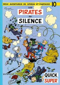 Cover Thumbnail for Les Aventures de Spirou et Fantasio (Dupuis, 1950 series) #10 - Les pirates du silence