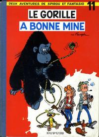 Cover Thumbnail for Les Aventures de Spirou et Fantasio (Dupuis, 1950 series) #11 - Le gorille a bonne mine