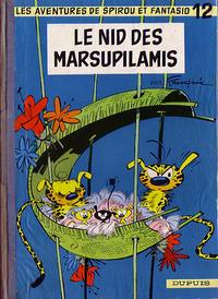Cover Thumbnail for Les Aventures de Spirou et Fantasio (Dupuis, 1950 series) #12 - Le nid des marsupilamis